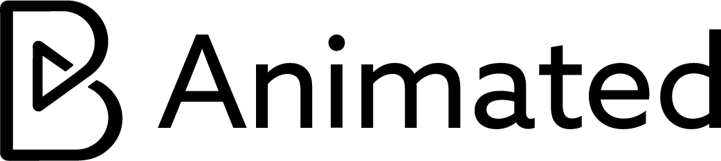 B Animated Black Logo